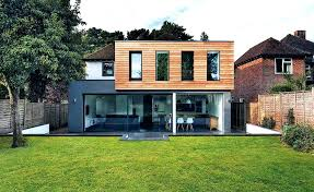 designing a house extension a striking clad extension plan your own house extension