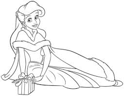 Small Picture Princess Ariel Coloring Pages qlyviewcom