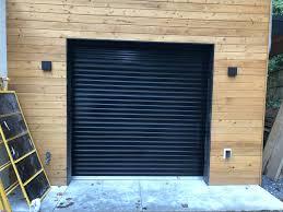 garage door atlanta black commercial roll up door