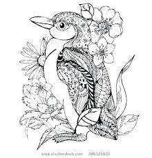 Penguin Coloring Sheet Penguin Coloring Sheet Erect Crested Page