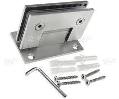 new shower door hinge wall mount hinge 8 12mm bracket frameless wall to glass