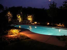 amazing outdoor lighting for pool amazing outdoor lighting