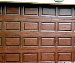swingeing painting garage door to look like wood you can paint a steel garage door to