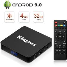 Amazon.com: Kingbox Android 9.0 TV Box with 4GB RAM 64GB ROM, K4 S Android  Box Quad-Core Support BT 4.1/ H.265/ 4K/ 3D/ 2.4GHz WiFi Smart TV Box (2019  Newest Version): Electronics