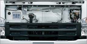 isuzu isuzu f series forward maintenance when there is a big job forward will be ready the quick access front panel facilitates routine replenishment of clutch and washer fluids as well as brake