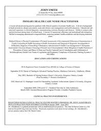 Resume Nurse Practiti Resume Objective Examples Nurse Practitioner ...