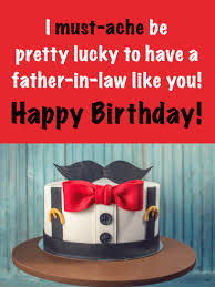 Birthday Cake Cards For Father In Law Birthday Greeting Cards By