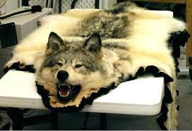 yellow fur rug real fur rugs animal fur rugs wolf fur rug wolf rug real wolf
