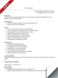 resumes for dental assistant resume examples for dental assistants dental assistant resume