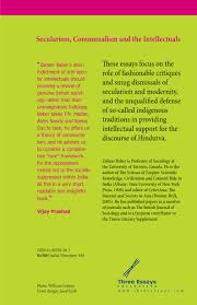 secularism communalism and the intellectuals by zaheer baber   secularism communalism and the intellectuals back jpg