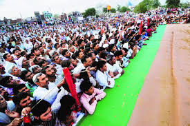 photo essay   fight club   livemintroughly     people attended the dangal in farrukhnagar near gurgaon on tuesday  for the crowd