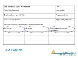 Job Hazard Analysis Worksheet The Job Hazard Analysis Dawn Johnston Bob Siktberg March 18 Ppt