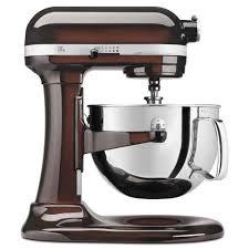 kitchenaid kp26m1xes espresso 6 qt professional 600 series stand mixer