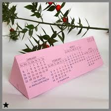 3d Paper Flower Calendar Printable Calendar 2019 Minimal Table Calendar Last Minute