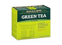 amazon bigelow clic green tea bags 40 count bo pack of 6 240 tea bags total caffeinated individual green tea bags for hot tea or iced tea