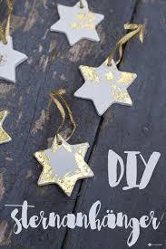 Diy Sternenanhänger Mit Gold Weihnachtsbaumanhänger