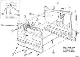 how to remove and replace door lock actuator; 1994 ford xlt 2013 F150 Door Harness door trim panel graphic Ford F-150 Door Handles