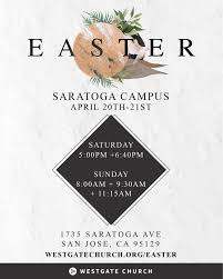 Easter Invites Westgate Church