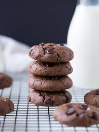 double chocolate peanut er cookies whole grain vegan gluten free and refined