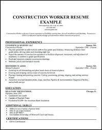 general laborer resume skills laborer resume template emelcotest com