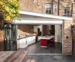 Kitchen Extension Outside Design Kitchen Contemporary With Roof Lights Rear