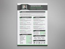 Job Interview Portfolio Template Cv Resume A 4 Psd Compatible For ...
