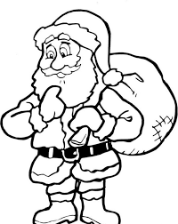 Small Picture Christmas Coloring Pages Printable Santa Claus Christmas