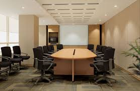 conference room design ideas office conference room. Interior, Enthralling Meeting Room Design Ideas With Stylish Bright Brown Wood Oval Shaped Conference Table And Modern Black Fabric Office Chairs Also White