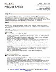 Data Entry Skills Resumes Data Entry Resume Samples Qwikresume