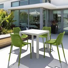 garden patio square plastic table