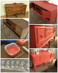 popular furniture colors. SO AWESOME PAINTED Coral Hutch. Chalk Paint. DIY Painted Furniture Popular With The Poplins Colors G