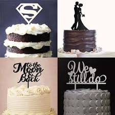 Cake Toppers Buy Wedding Birthday Party Cake Toppers Online In India