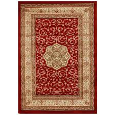 affordable traditional persian design floor area rugs hall runners medallion red