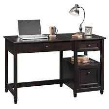 lift top desk. Sauder Edge Water Sit And Stand Lift Top Desk In Estate Black