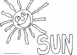 Small Picture Coloring Page Sun Sun Safety Coloring Pages Sun And Cloud