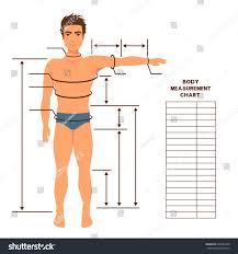 Logical Body Chart For Men Blank Body Measurement Chart Body
