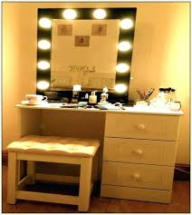 light wood makeup vanity vanities vanity mirror with light bulbs table set makeup home design ideas light wood makeup