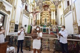 Bruno Reis também abriu campanha com missa na Basílica do Senhor do Bonfim  – #Acesse Política | O site de política que mais cresce na Bahia.