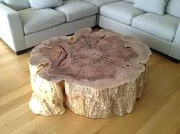 tree trunk furniture for sale. Trunk Coffee Tables For Sale Tree Side Table Stump Furniture R