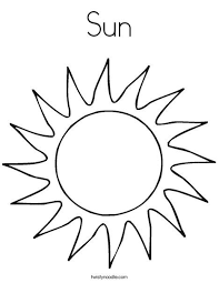 sun coloring page. Beautiful Coloring Sun Coloring Page From TwistyNoodlecom Intended L