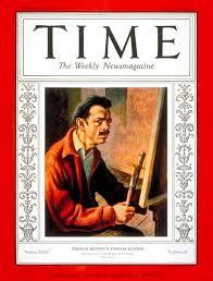 TIME Magazine Cover: Thomas Hart Benton - Dec. 24, 1934 - Painters - Art