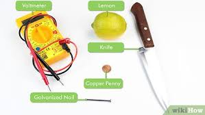 Lemon Battery Data Chart How To Create A Battery From A Lemon 14 Steps With Pictures
