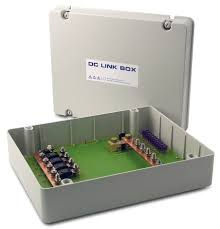 dc link box in ip55 enclosure energy solutions