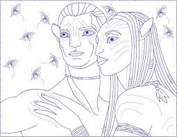 Small Picture Avatar Coloring Pages Coloring Pages To Print