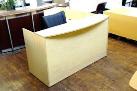diy reception desk l shaped home design image of wood modern