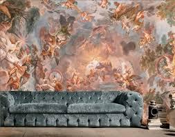 Renaissance Fresco Art Wallpaper Mural ...