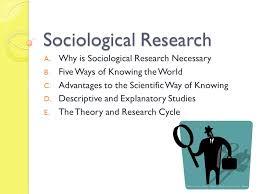 Sociological Research Sociological Research Ppt Video Online Download