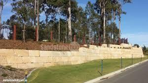 sandstone retaining walls free quote