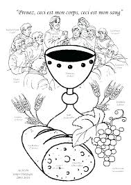 Holy Communion Coloring Pages For Kids First At Com Free Printable