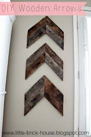 little brick house reclaimed wood project diy wooden arrows on wall art wooden arrow with little brick house reclaimed wood project diy wooden arrows diy